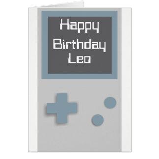 Gamer Birthday card