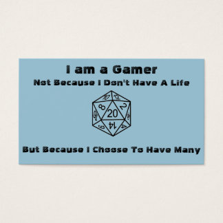 Gamer Business Cards