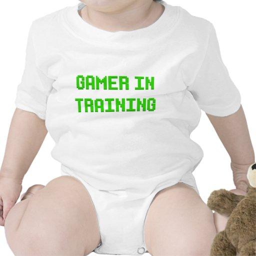 Gamer dans la formation bodies pour bébé