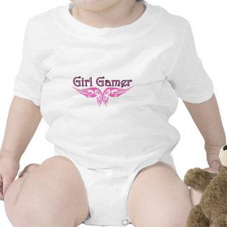 Gamer de fille bodies pour bébé