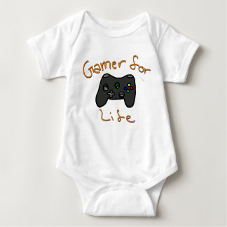 Gamer For Life Baby Bodysuit