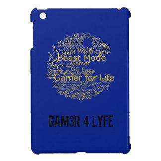 Gamer For Life iPad Mini Case - Gamer Word Art