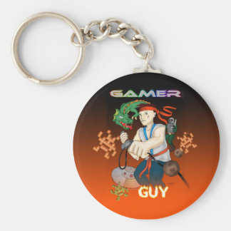 Gamer Guy Keychain
