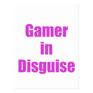 Gamer in Disguise Postcard
