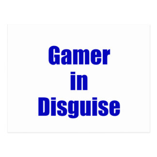 Gamer in Disguise Post Card