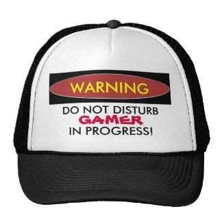 GAMER, IN PROGRESS! Ball Cap Trucker Hat