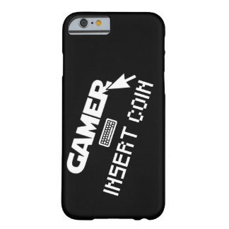 Gamer insert coin barely there iPhone 6 case