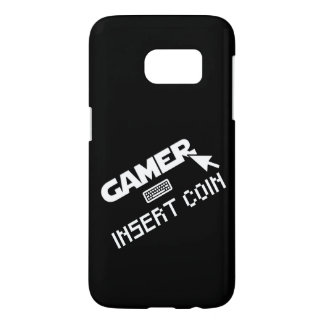 Gamer insert coin samsung galaxy s7 case