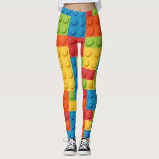 Gamer - Interlocking Bricks Leggings