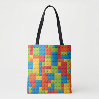 Gamer - Interlocking Bricks Tote Bag