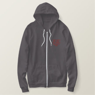 gamer life embroidered hoodie