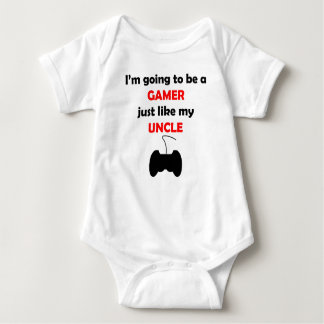 Gamer Like My Uncle Baby Bodysuit