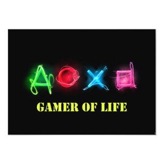 Gamer of life card