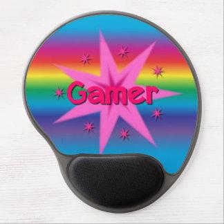 Gamer Stars & Rainbow Gel Mousepad