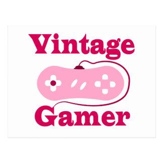 Gamer vintage cartes postales