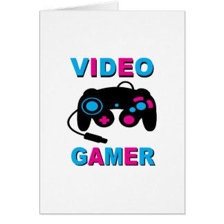 Gamer visuel cartes