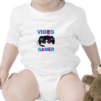 Gamer visuel body pour bébé