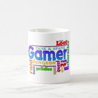 Gamer Word Art Mug