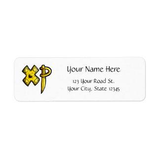 Gamer-XP Return Address Labels