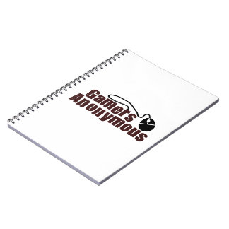 Gamers Anonymous Spiral Notebook