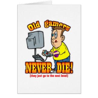 Gamers Carte De Vœux