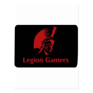 Gamers de légion cartes postales
