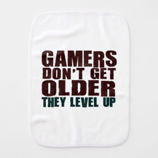 Gamers Don't Get Older... Burp Cloths