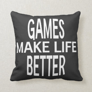 Games Better Pillow - Assorted Styles & Colors