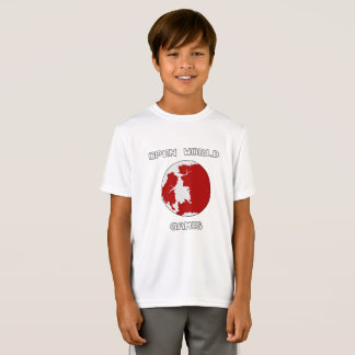Games Kids' Sport-Tek Competitor T-Shirt, White T-Shirt