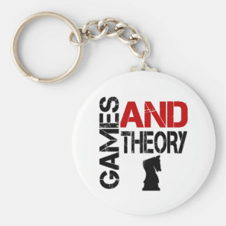 Games & Theory Keychain