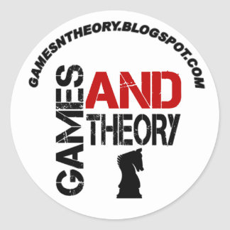 Games & Theory Sticker