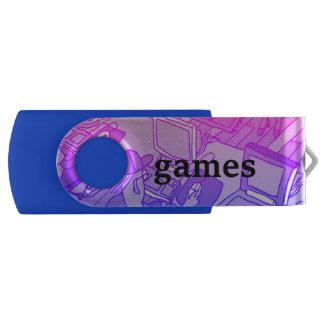 games USB Swivel Stick by DAL USB Flash Drive