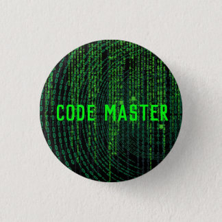 gaming button- code master 1 inch round button