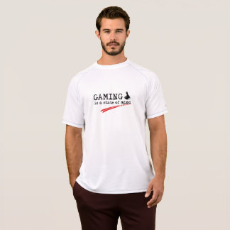 GAMING Champion Double Dry Mesh T-Shirt, White T-Shirt