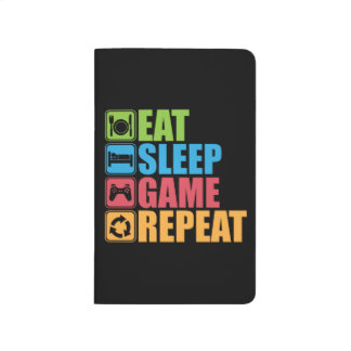 Gaming - Eat, Sleep, Game, Repeat - Gamer, Funny Journal