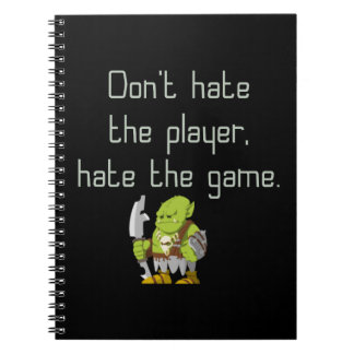 Gaming Geek: Don't Hate the Player Notebooks