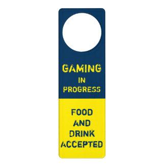 Gaming In Progress - Video Game - GG Door Hanger
