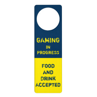 Gaming In Progress - Video Game - GG Door Hangers