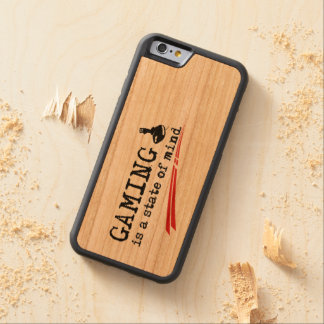 GAMING iPhone 6/6s Bumper Cherry Wood Case