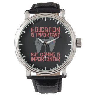 Gaming Is Importanter Than Education - Funny Gamer Watch