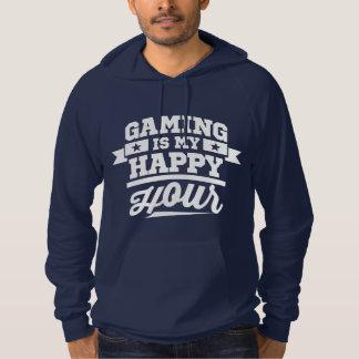 Gaming Is My Happy Hour Hoodies