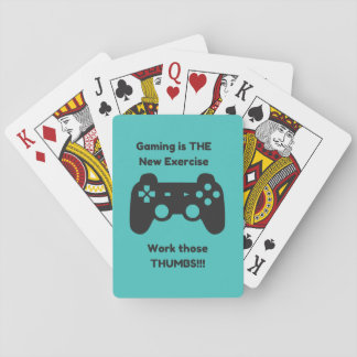 Gaming is THE New Exercise Work Those Thumbs Cards