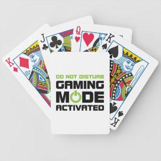 Gaming Mode Bicycle Playing Cards
