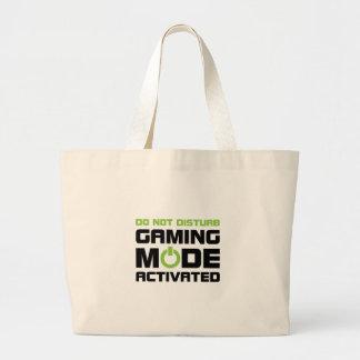 Gaming Mode Large Tote Bag