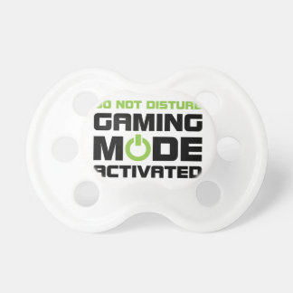 Gaming Mode Pacifier