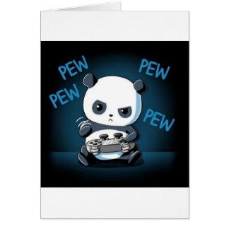 Gaming Panda Design Card