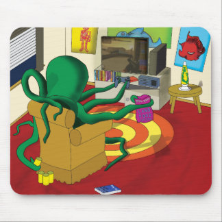 Gaming Squid Mouse Mat