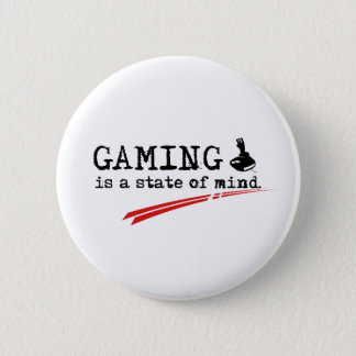 "GAMING Standard, 5.7 cm (2.25"") Round Badge 2 Inch Round Button"