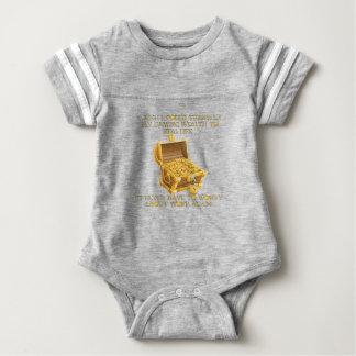Gaming wealth baby bodysuit