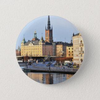 Gamla Stan in Stockholm, Sweden 2 Inch Round Button
